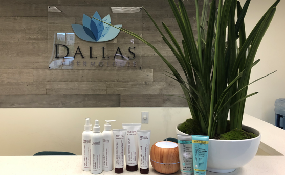 products for custom facials at dallas endermologie